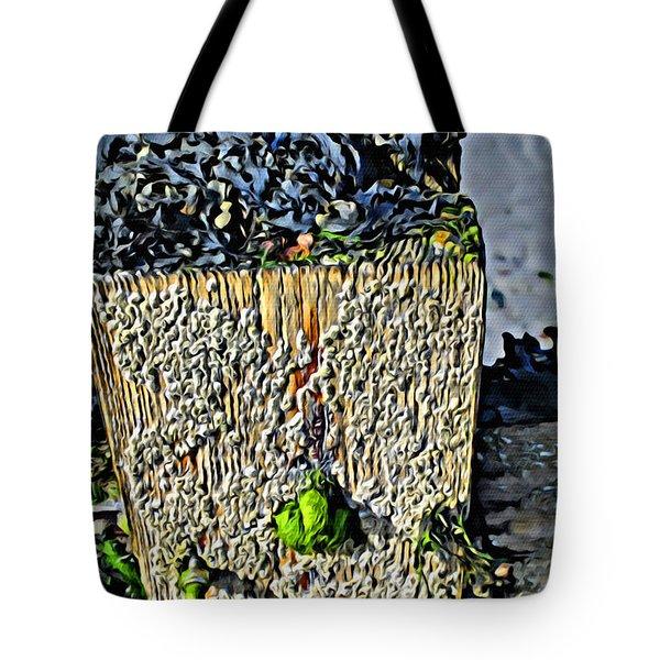 Isle Of Man Low Tide Tote Bag
