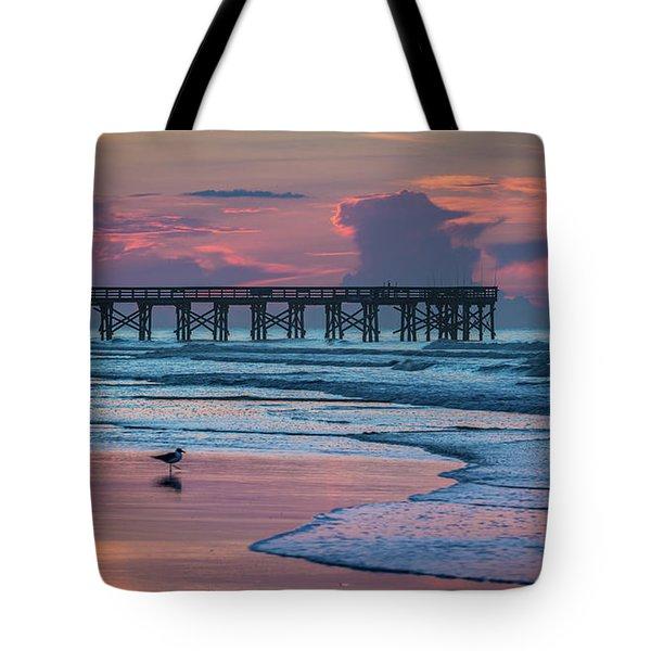 Isle Of Palms Morning Tote Bag