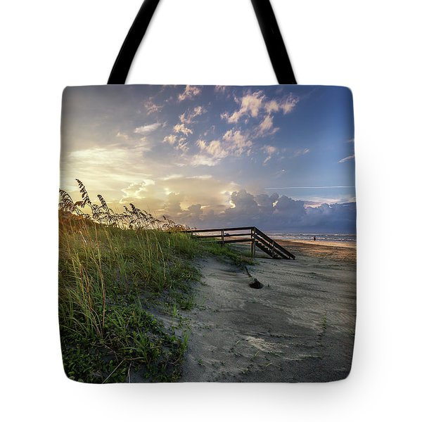 Isle Of Palms Sunstar Tote Bag