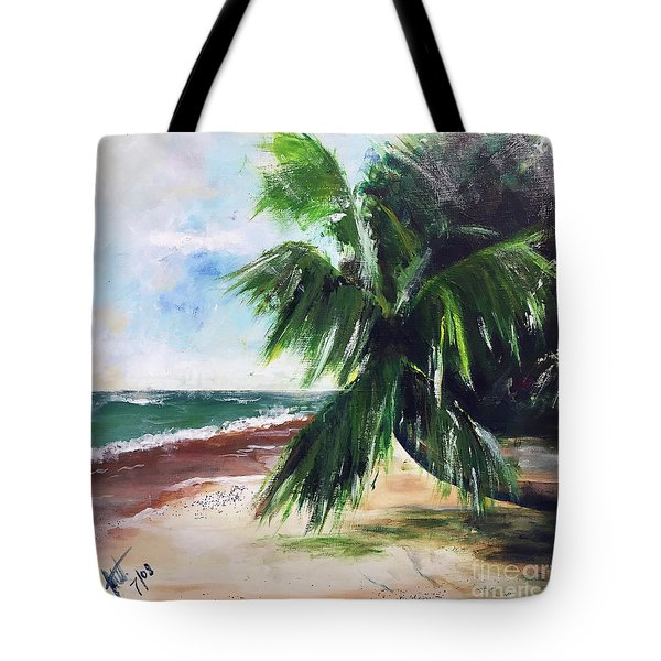 Isle V Tote Bag by Amy Williams