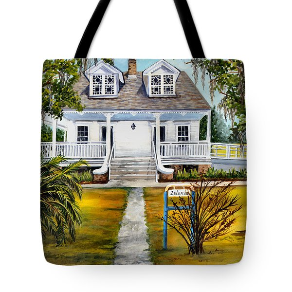 Islenos Museum Tote Bag by Elaine Hodges