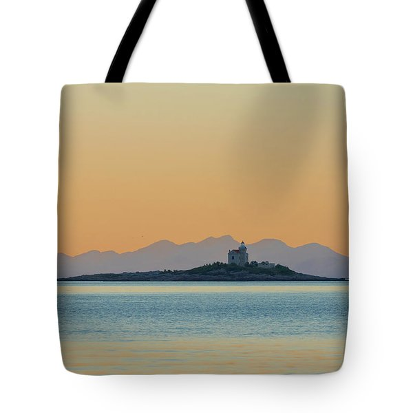 Tote Bag featuring the photograph Islet by Davor Zerjav