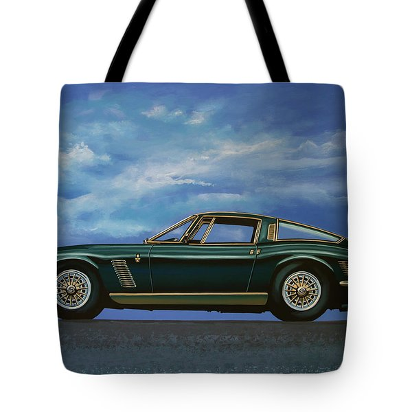 Iso Grifo Gl 1963 Painting Tote Bag
