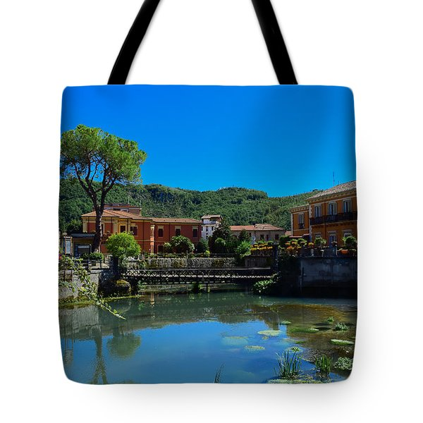 Tote Bag featuring the photograph Isola Del Liri by Dany Lison