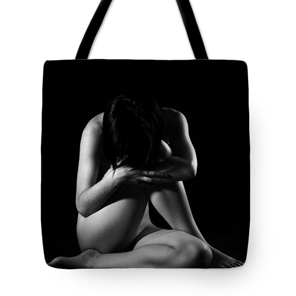 Isolated Girl Tote Bag