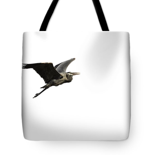 Isolated Great Blue Heron 2015-3 Tote Bag
