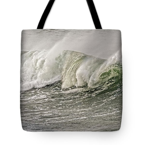 Isolated Wave Tote Bag