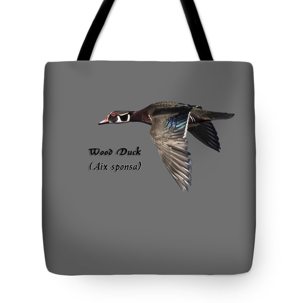 Isolated Wood Duck 2017-1 Tote Bag