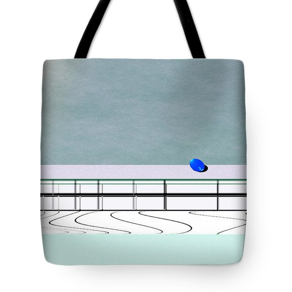 Tote Bag featuring the digital art Isolation 2 by Kae Cheatham