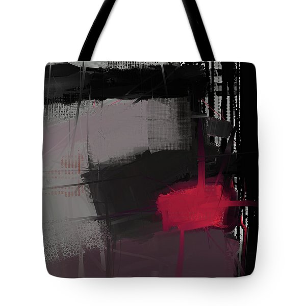 Tote Bag featuring the mixed media Isolation by Eduardo Tavares