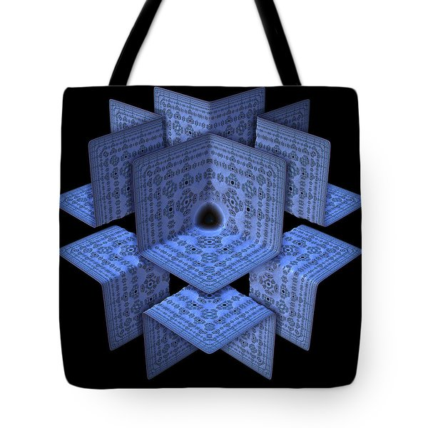 Tote Bag featuring the digital art Isolation by Lyle Hatch