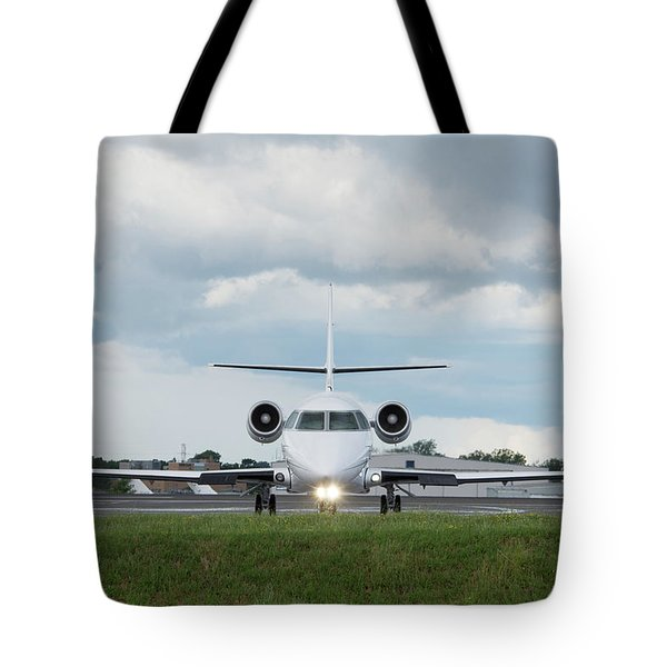 Tote Bag featuring the photograph Israel Aircraft Industries Galaxy 1 by Guy Whiteley