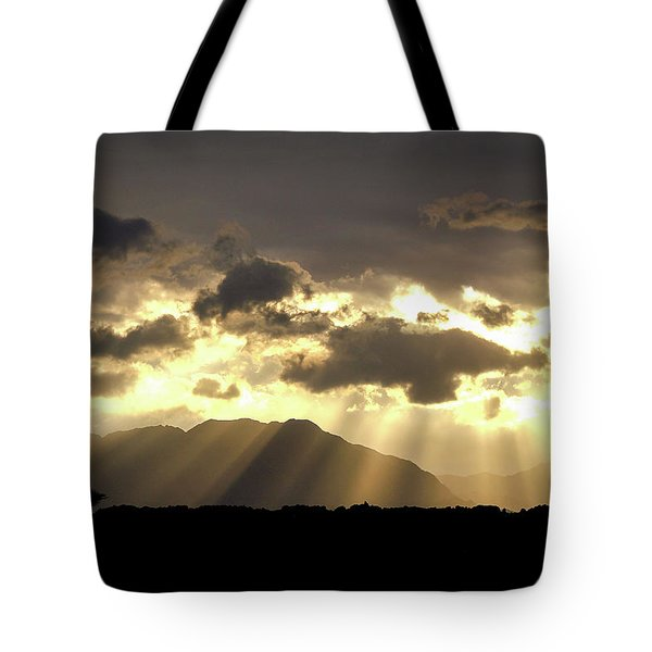 Tote Bag featuring the photograph Israeli Desert Sunrise At Timna by Yoel Koskas