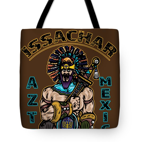 Issachar Aztec Warrior Tote Bag