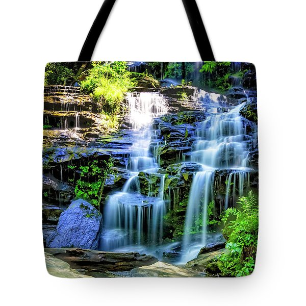 Isssawueenna Falls In Hdr Tote Bag