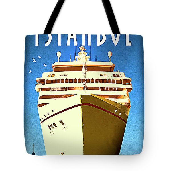 Istanbul Cruise, Turkey Tote Bag