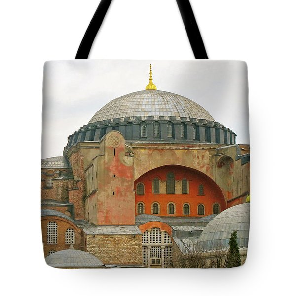 Tote Bag featuring the photograph Istanbul Dome by Munir Alawi