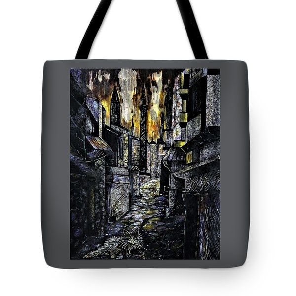 Istanbul Impressions. Lost In The City. Tote Bag