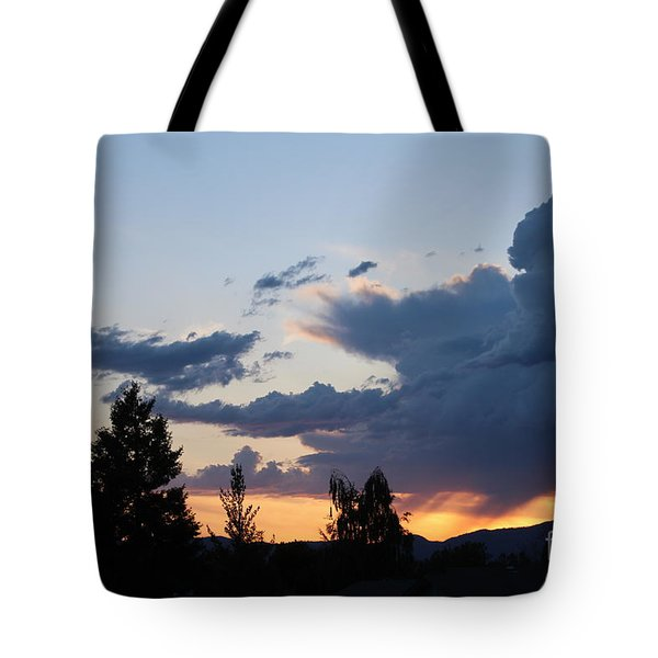 Tote Bag featuring the photograph It Cometh by Marie Neder