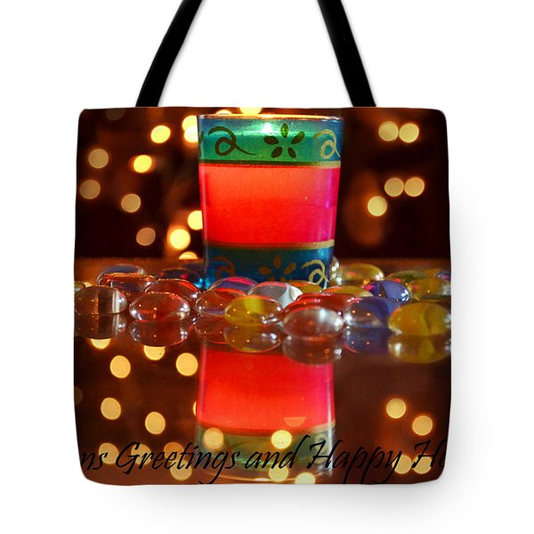 Tote Bag featuring the photograph It Feels Like Christmas by Rima Biswas
