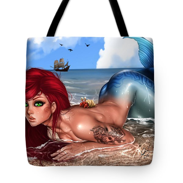 Tote Bag featuring the painting It Had Hands by Pete Tapang