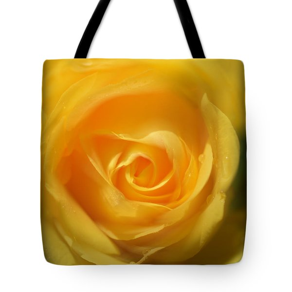It Is At The Edge Of The Petal That Love Waits Tote Bag