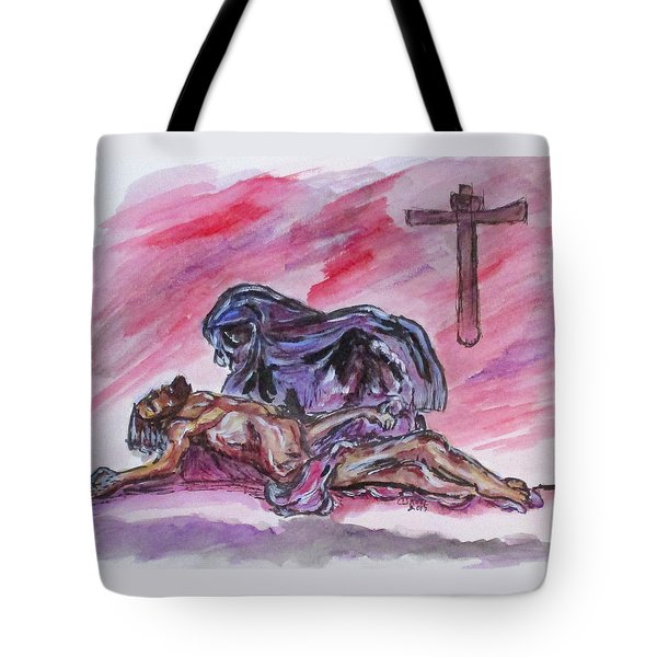 It Is Done Tote Bag by Clyde J Kell
