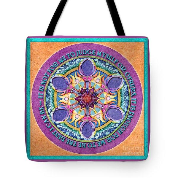 It Is Enough Mandala Prayer Tote Bag