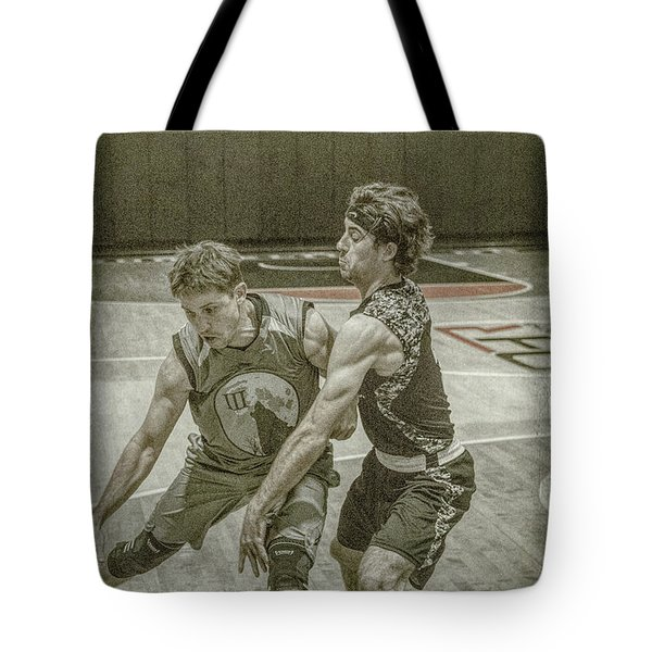 Tote Bag featuring the photograph It Is My Ball by Ronald Santini