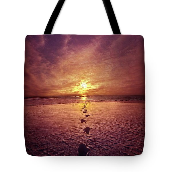 Tote Bag featuring the photograph It Is Then That I Carried You by Phil Koch