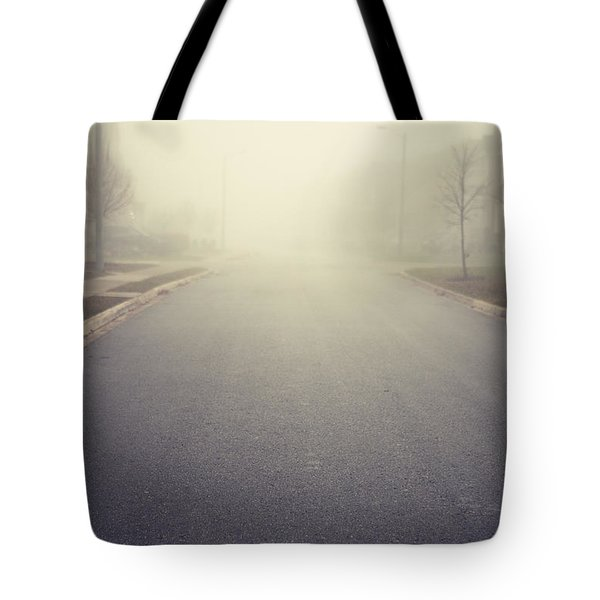 It Is Unclear What Lies Ahead Tote Bag