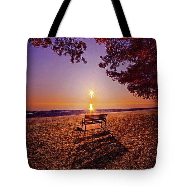 Tote Bag featuring the photograph It Is Words With You I Seek by Phil Koch