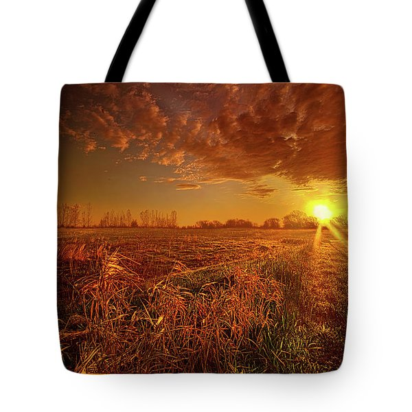Tote Bag featuring the photograph It Just Is by Phil Koch