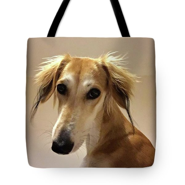 It Looks Like It Will Be A Bad Hair Day Tote Bag by John Edwards