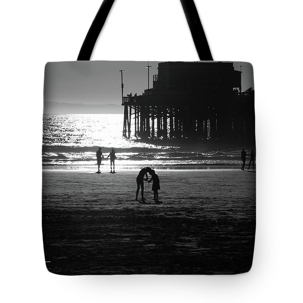 Tote Bag featuring the photograph It Takes Two by T A Davies