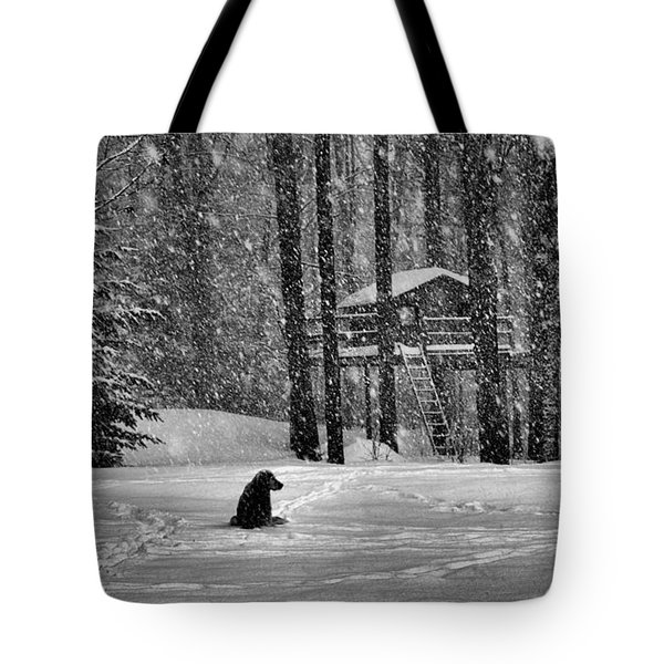 It Was A Dark And Stormy Night Tote Bag