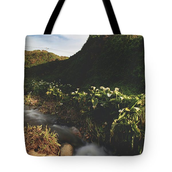 It Was A Hard Winter Tote Bag by Laurie Search