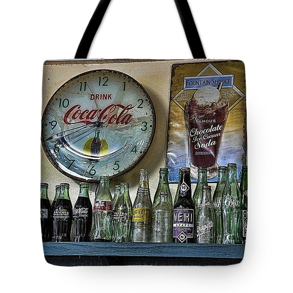 It Was Time For A Drink Tote Bag by Jan Amiss Photography