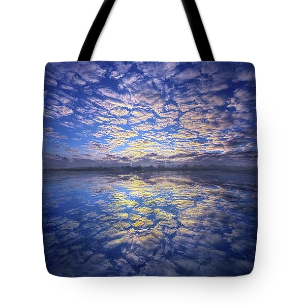 Tote Bag featuring the photograph It Was Your Song by Phil Koch