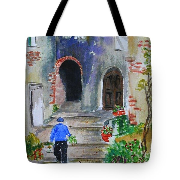 Italian Alleyway Tote Bag