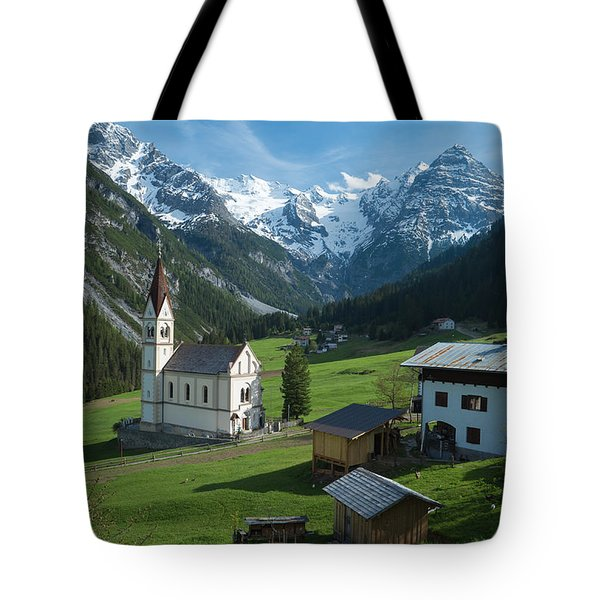 Italian Alps Hidden Treasure Tote Bag