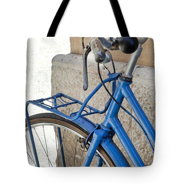 Italian Bike Tote Bag by Robert Lacy