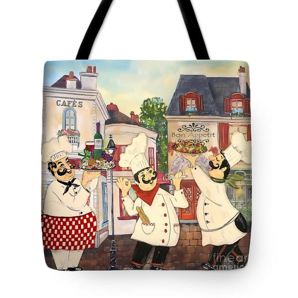 Italian Chefs-jp3042 Tote Bag