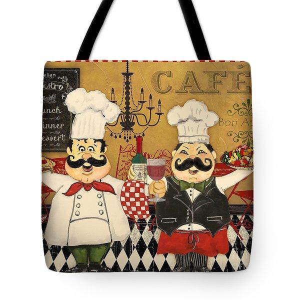 Italian Chefs-jp3045 Tote Bag