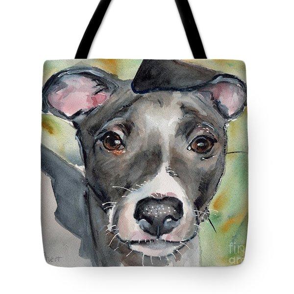 Italian Greyhound Watercolor Tote Bag