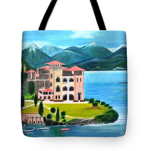 Italian Landscape-casino Royale Tote Bag