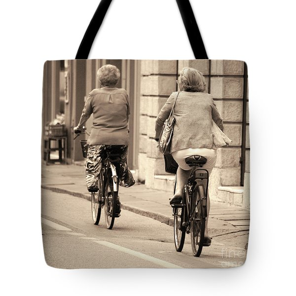 Italian Lifestyle Tote Bag