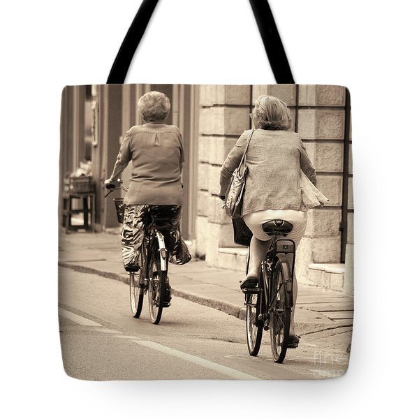 Tote Bag featuring the photograph Italian Lifestyle by Frank Stallone