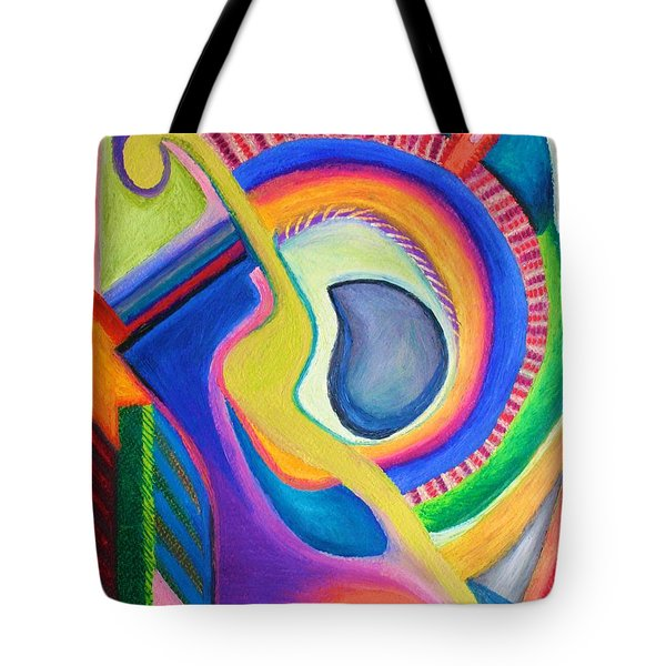 Tote Bag featuring the pastel Italian Opera by Polly Castor