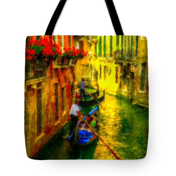 Italian Red Tote Bag